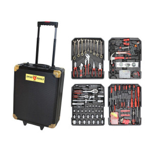 Набор инструментов с трещотками Swiss Tools 188 предметов в чемодане ST-1063