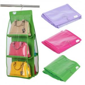 Органайзер для сумок Hanging Purse Organizer ( на 6 сумок )