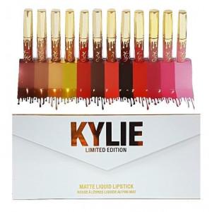Набор жидких помад Kylie Limited Edition Matte Liquid Lipstick B 12 шт.
