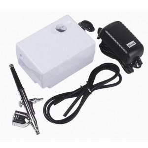 Аэрограф для макияжа с компрессором Airbrush Makeup System