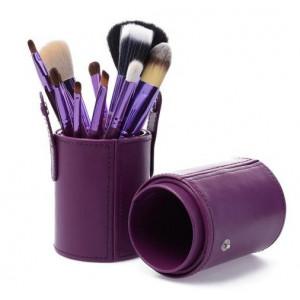 Набор кистей в тубусе 12 штук Purple