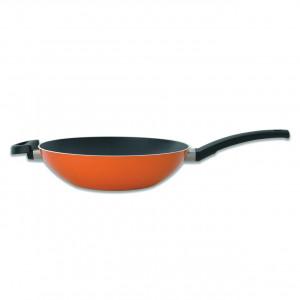 Сковорода-вок 28см 3,2л (оранжевая) Eclipse