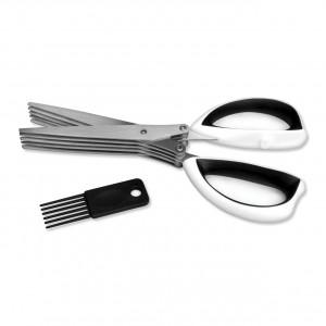 Ножницы с мульти-лезвиями и кистью 20,5см Studio