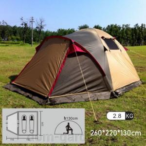 Туристическая 2-местная палатка X-ART1508 Mimir Outdoor