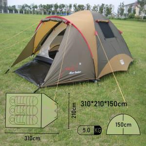 Туристическая 3-местная палатка с залом  X-ART11650A Mimir Outdoor