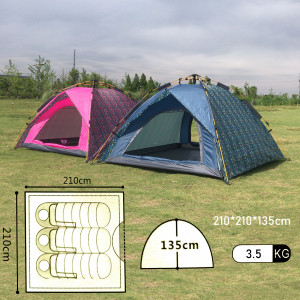 Туристическая 3-4-местная палатка MIMIR-910 Mimir Outdoor